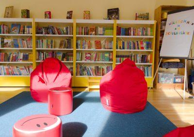 Die Bibliothek ist einer der schönsten Räume der Schule
