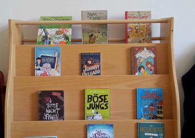 neue Bücher für die Bibliothek vom Lesefest