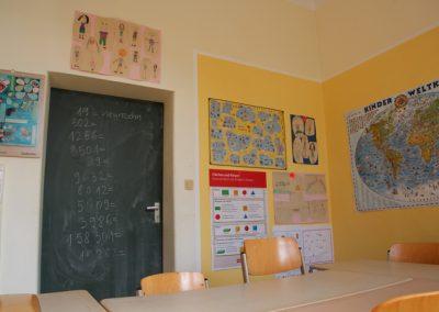 Einer der drei Räume für die Willkommenskinder